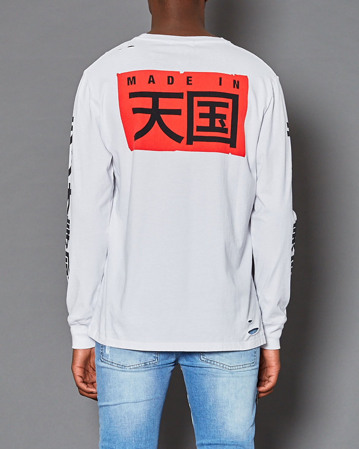 Big Japan Long Sleeve T-Shirt White