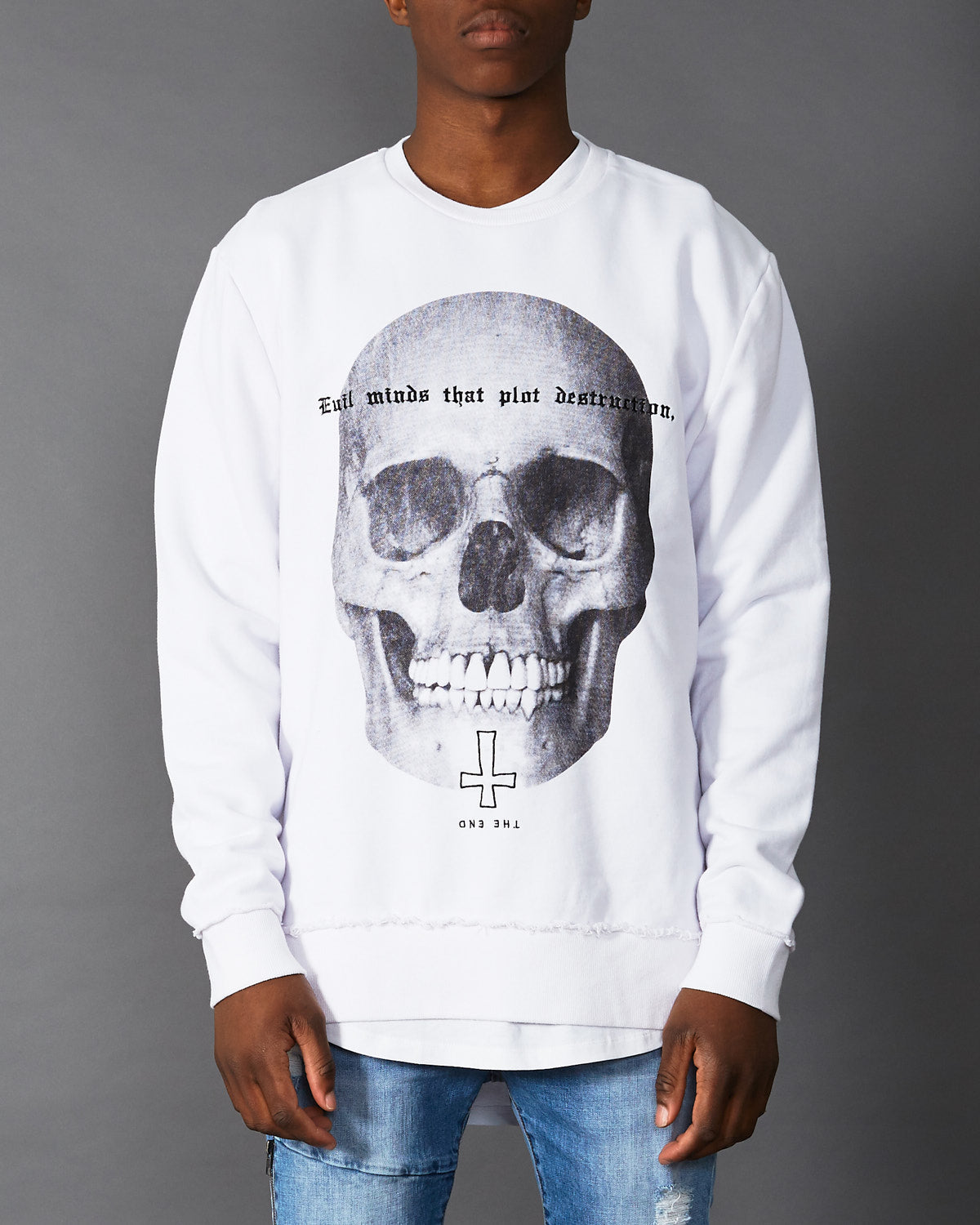 Evil Dead Jumper White
