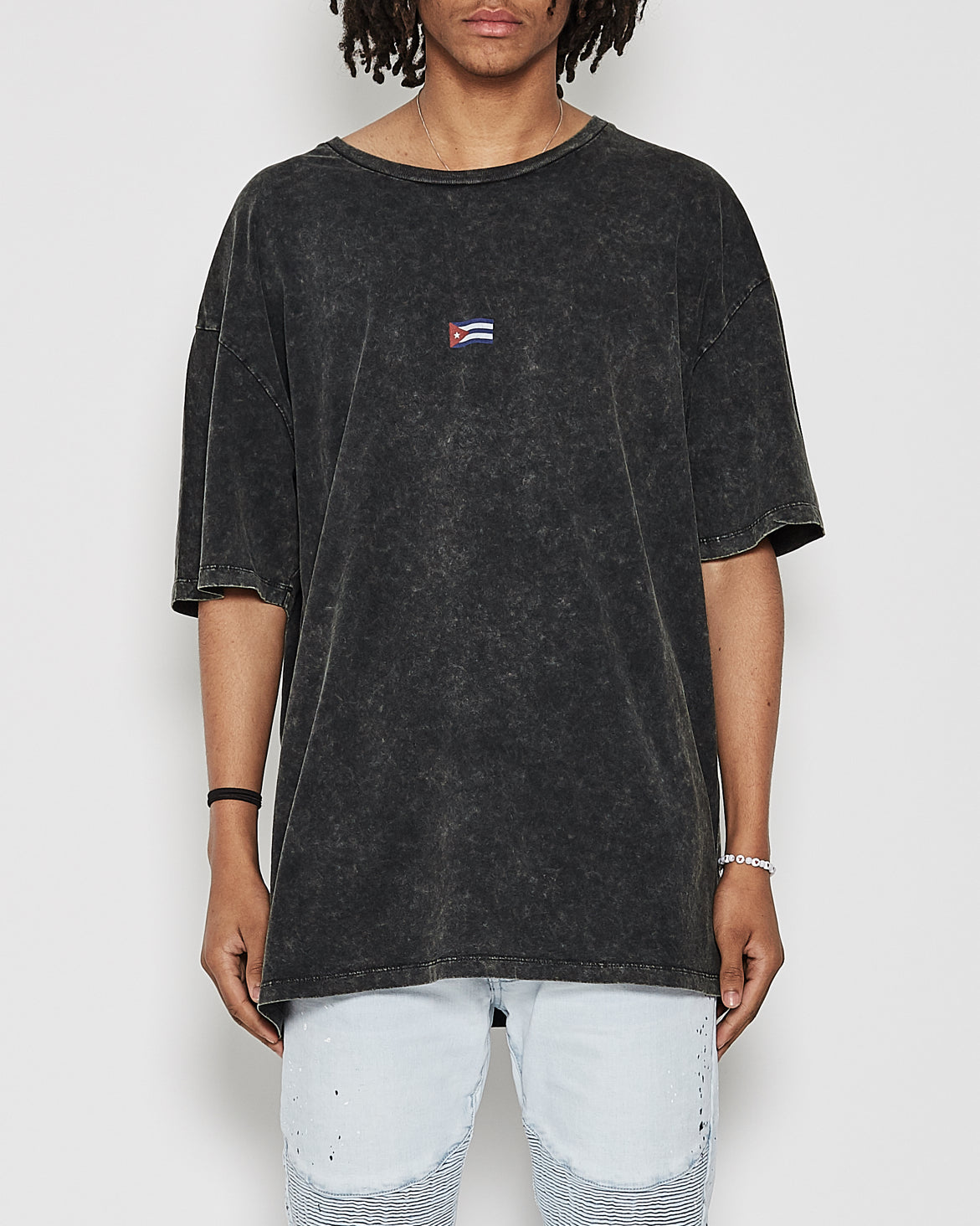 Republica Big Fit Tee Metal Black