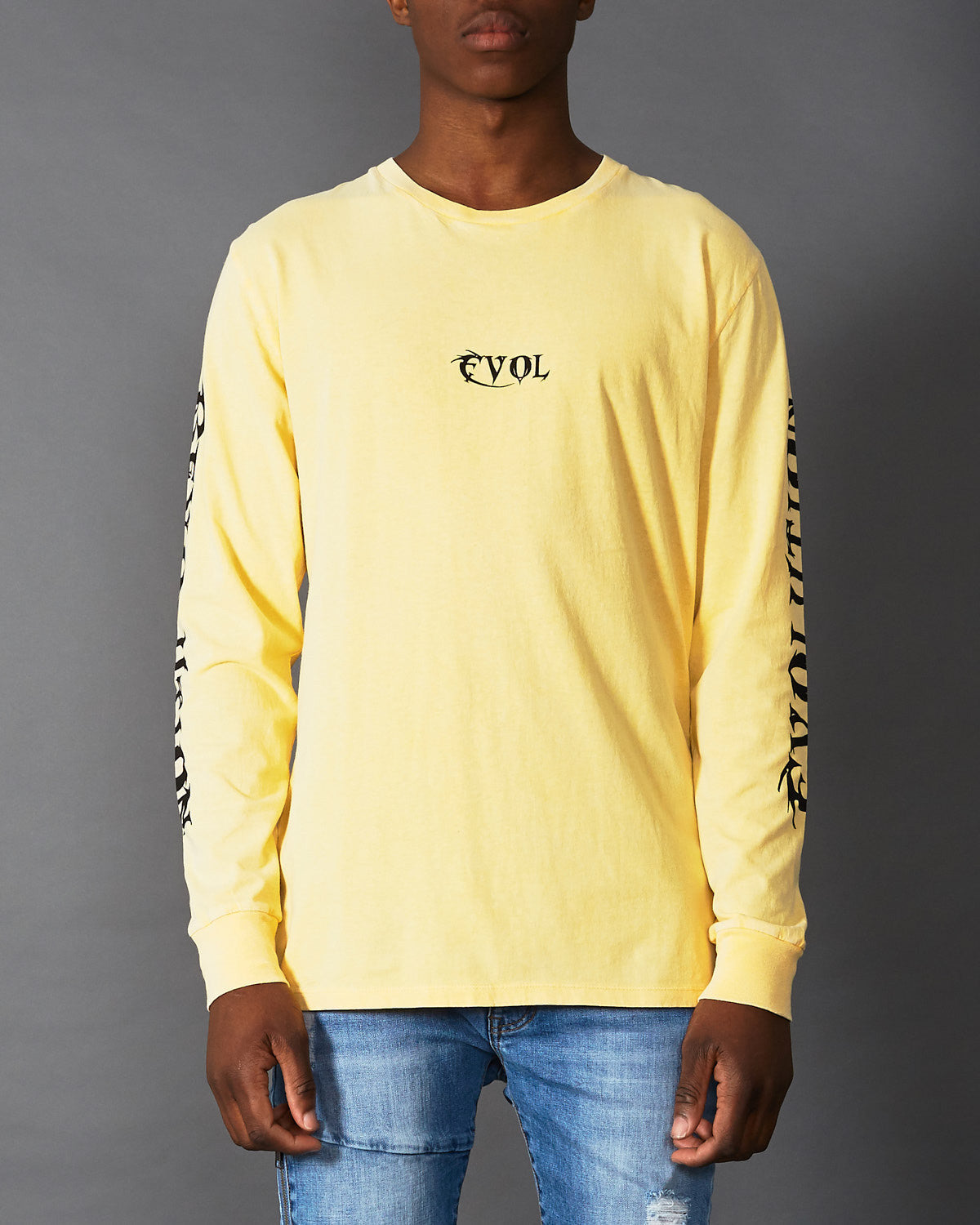Revolution Long Sleeve T-Shirt Lemon Chrome