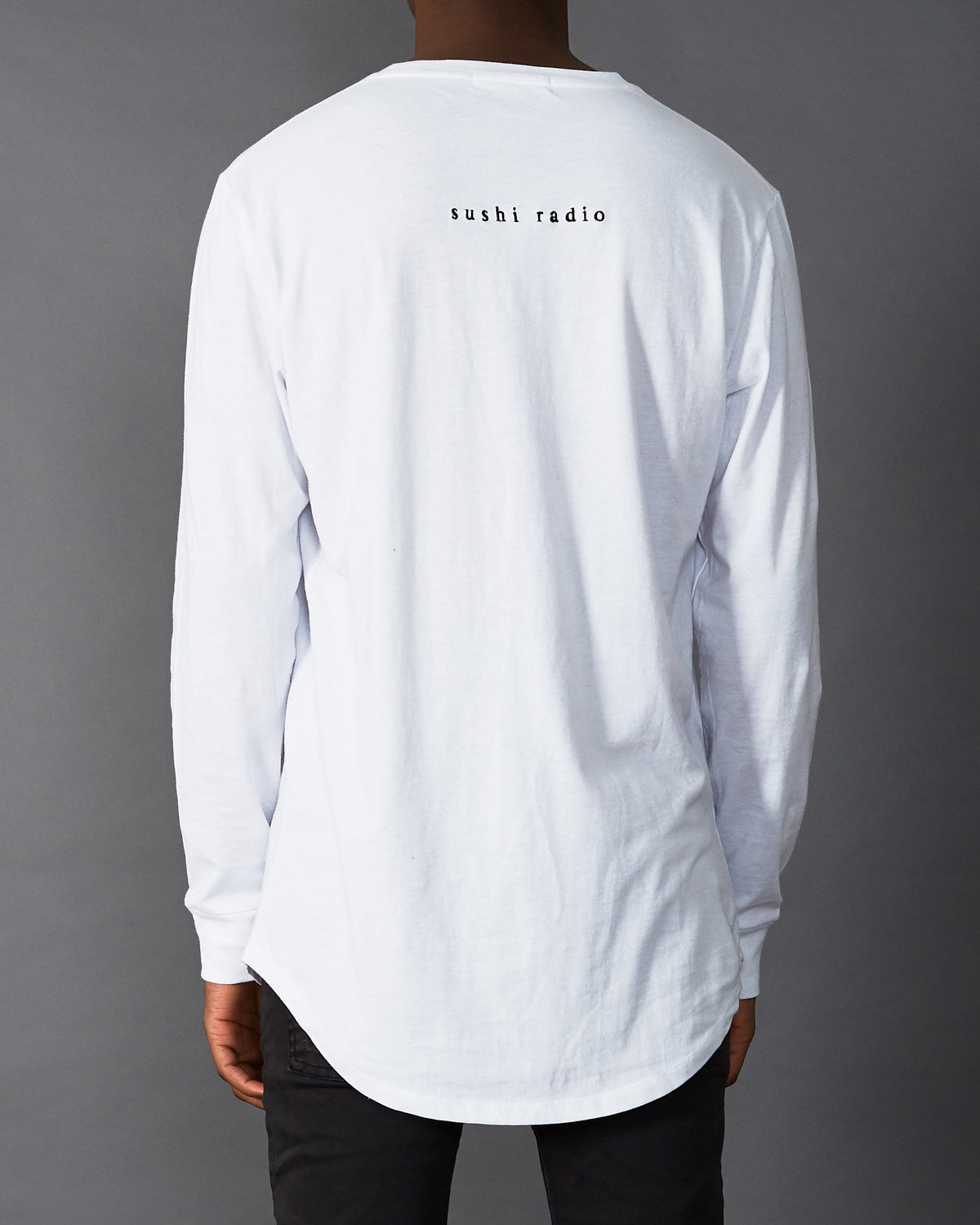 The Edge Long Sleeve T-Shirt White
