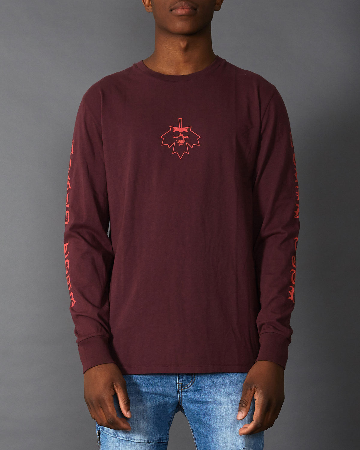 Volume 4 Long Sleeve T-Shirt Red Mahogany