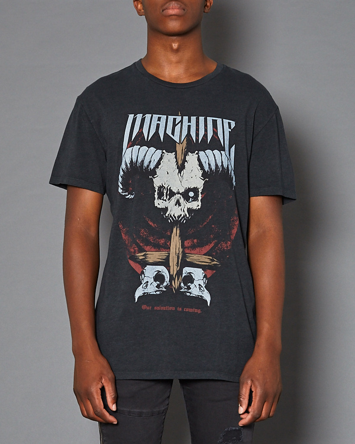 Vulture Relaxed Fit T-Shirt Pigment Black