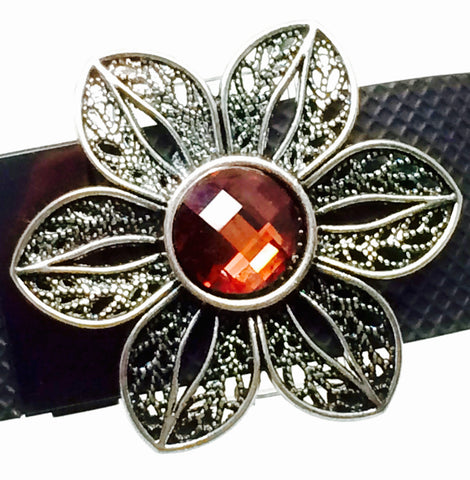 Fitband Bling Fleur Blush fitness tracker band bling accessory