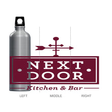 Next Door Kitchen & Bar Water Bottle