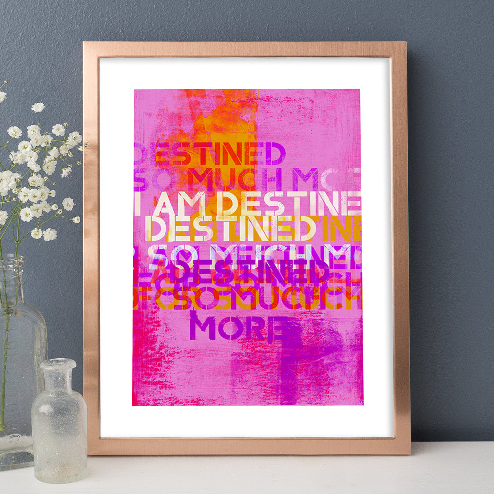 Wisdom words by luxuriouswalls.com positive affirmation art paintings and prints for home decor and interior design