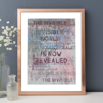 The Invisible World Fine Art Print - Luxurious Walls