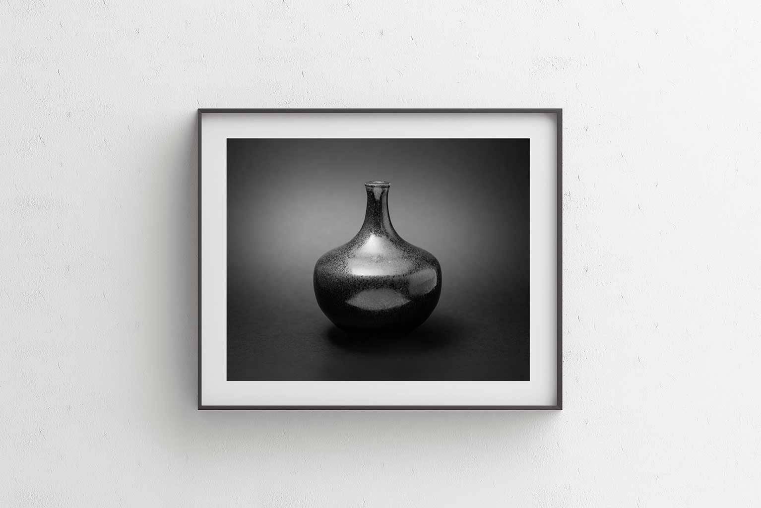 Black Silver II Fine Art Print - Luxurious Walls