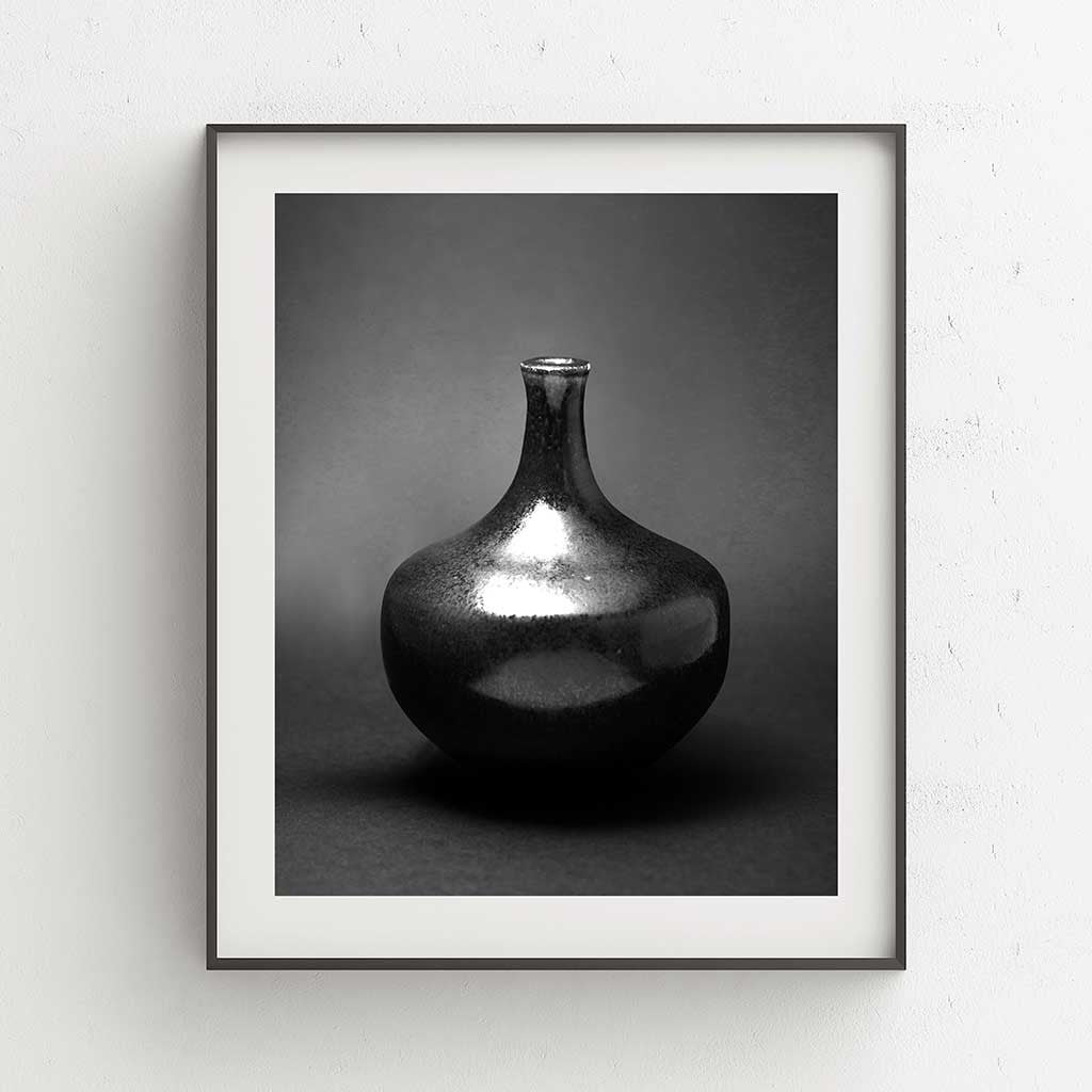 Black Silver I Fine Art Print - Luxurious Walls