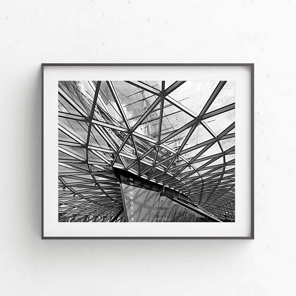 Cutty Sark Crystal Wave 2 Fine Art Print - Luxurious Walls