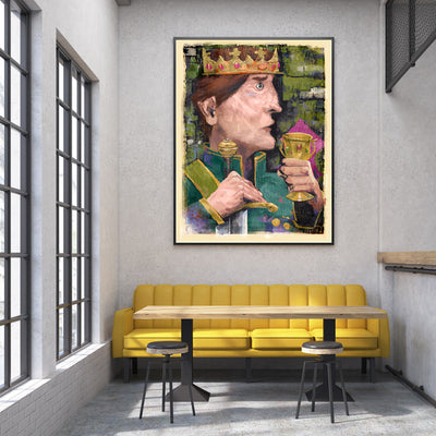 King Forestbathing Fine Art Print - Luxurious Walls