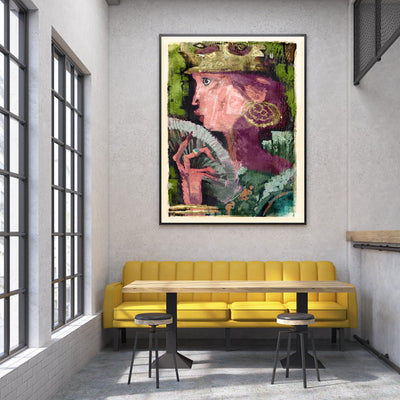 Queen Forestbathing Fine Art Print - Luxurious Walls