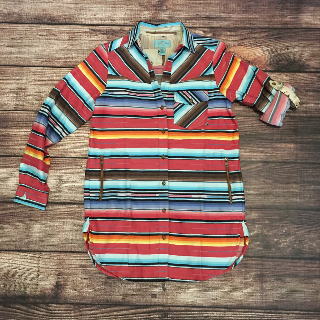 The Serape Highland Shirt from Tasha Polizzi - Legendary Western