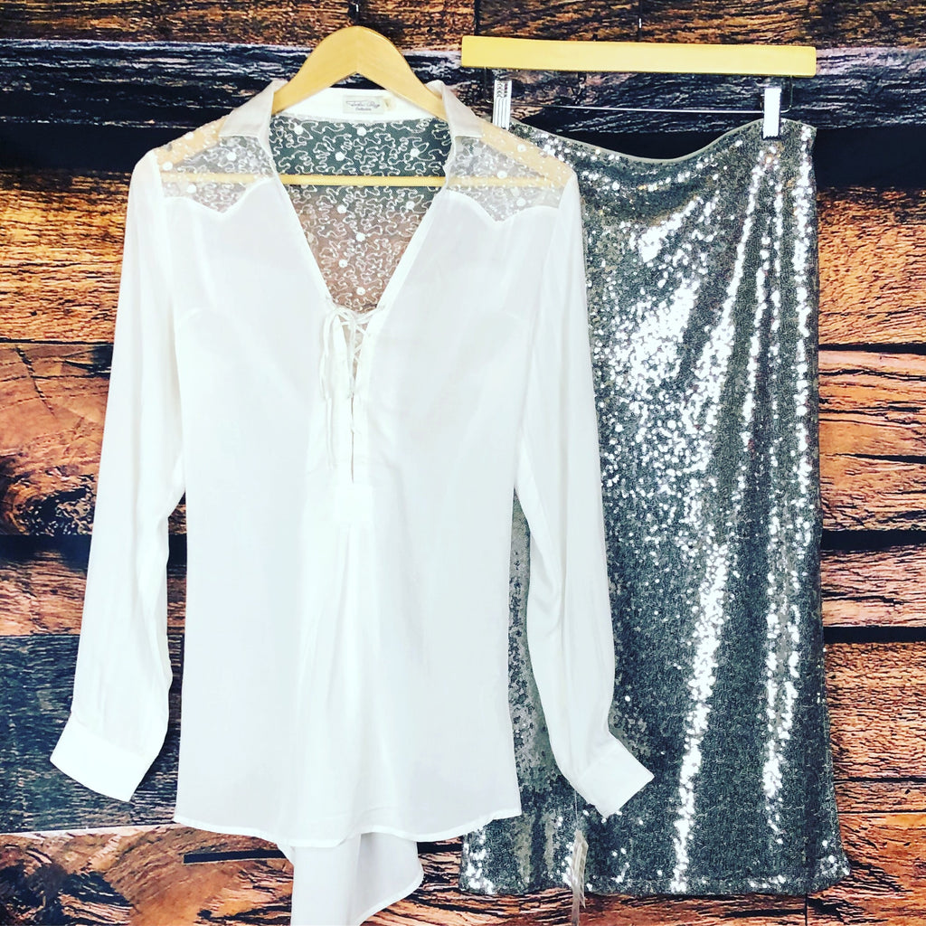 The Willow Shirt from Tasha Polizzi