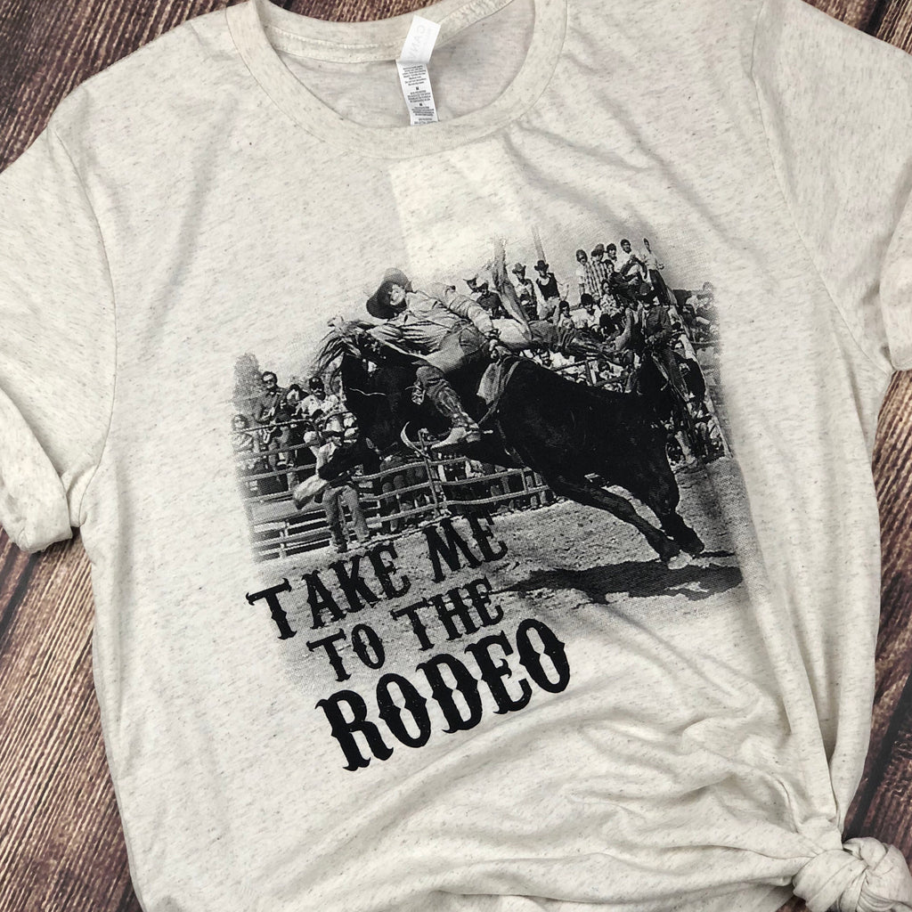 Take Me To the Rodeo Tee - Legendary Western