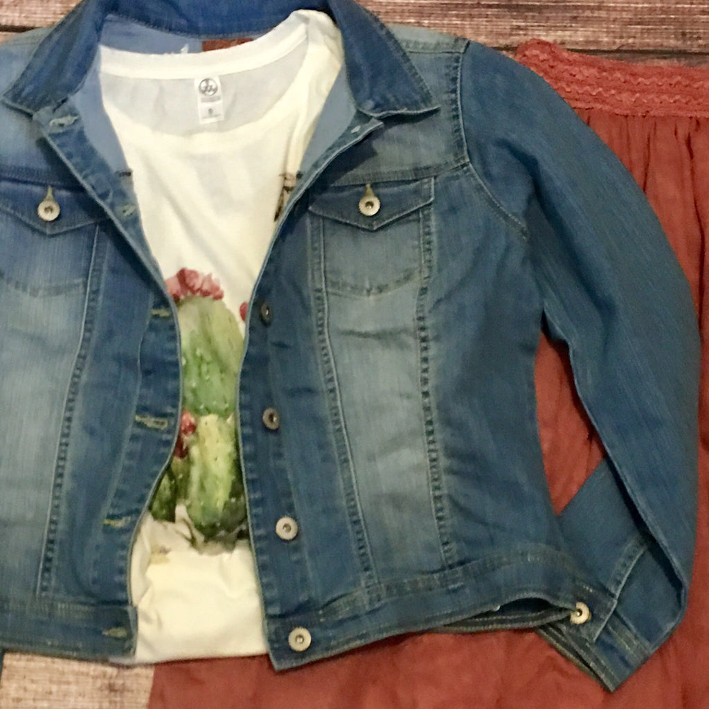 The Emily Denim Jacket - Legendary Western