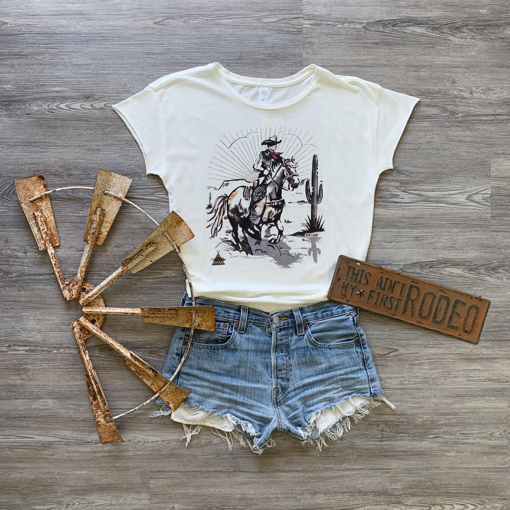 The Rider Tee by Tasha Polizzi