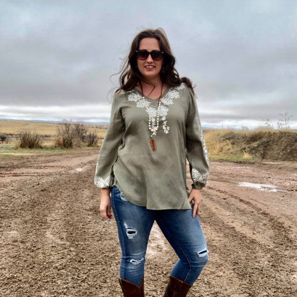 The Olivia Tunic from Scully - Legendary Western
