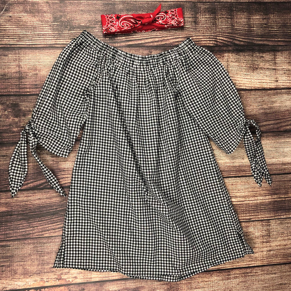 The Gingham Tunic