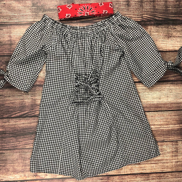 The Gingham Tunic - Legendary Western