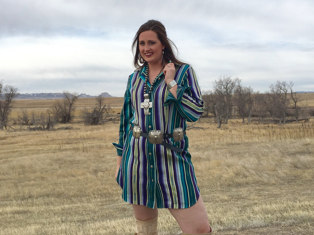 The Plum Shirt Dress by Silverado - Legendary Western