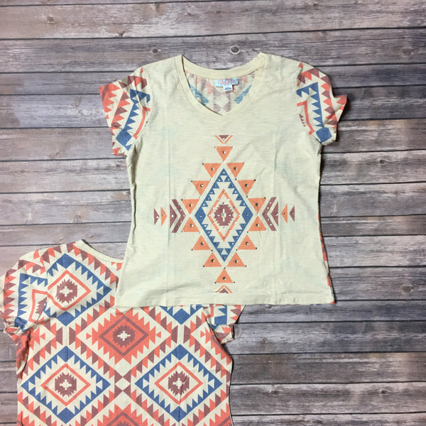 The Cora Tribal Tee - Legendary Western