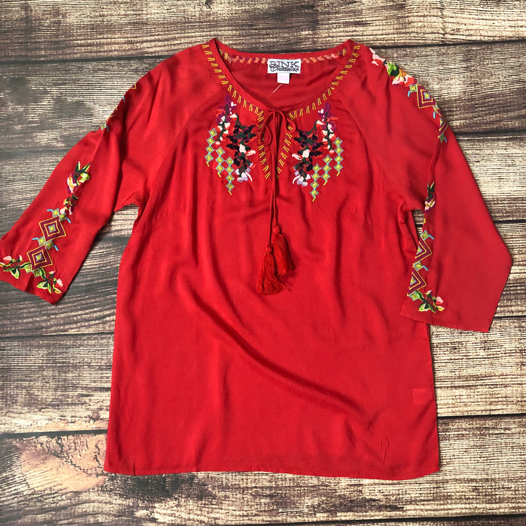 The Queen of Diamonds Tunic - Legendary Western