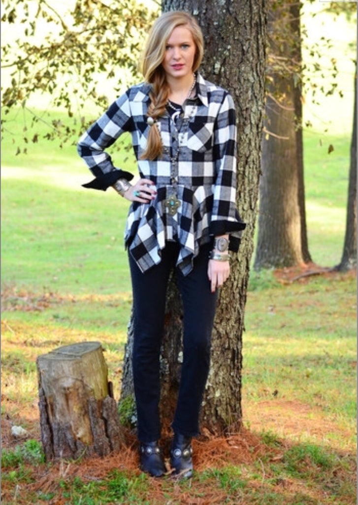 The Buffalo Plaid Shirt from Tasha Polizzi