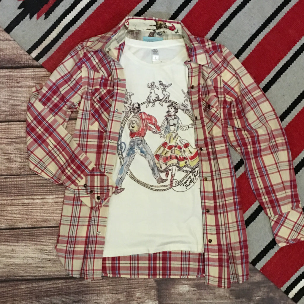 The Warrior Plaid Shirt by Tasha Polizzi - Legendary Western