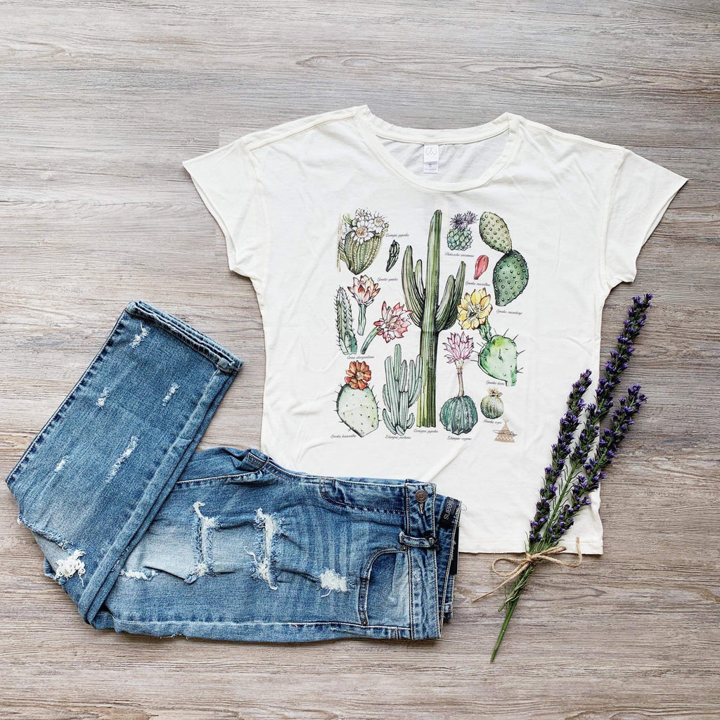 The Cactus Chart Tee