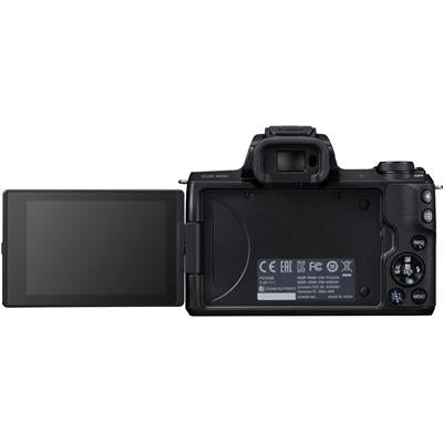 Canon EOS M50 Mirrorless Camera with 15-45mm STM Lens [4K Video] + Free Shipping