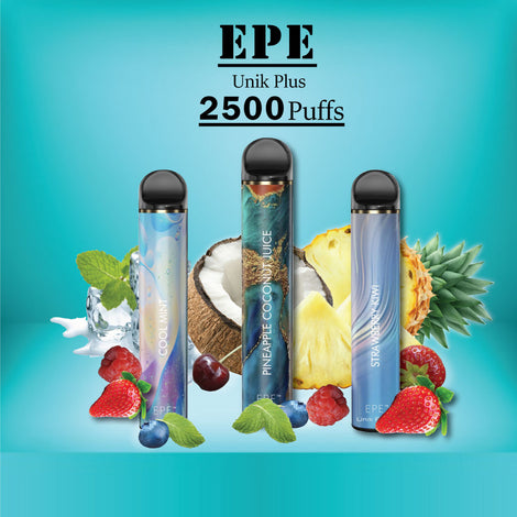 EPE Unik Plus 2500 Puffs Disposable Vape