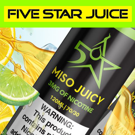 Five Star - 120ML Vape Juice