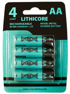 Lithicore AA Batteries