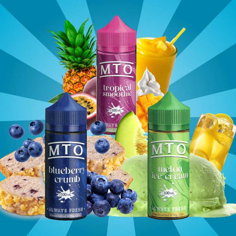 MTO (Made to Order) - 100ML Vape Juice