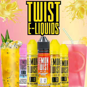 Lemon Twist - 120ML Vape Juice