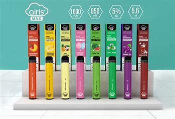 Airis - Max -1600 Puffs - Disposable Vape -Set of 8 different flavors