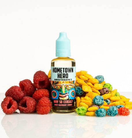 Hometown Hero - Why So Cereal? - 100ML Vape Juice - Cloud City Vapes NC