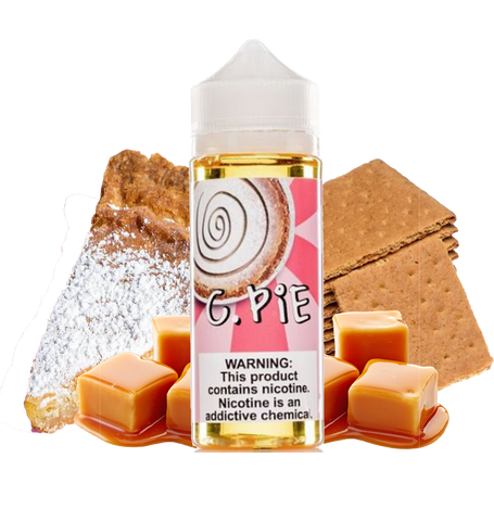 Food Fighter 120ML - C. Pie - Caramel Graham Cracker