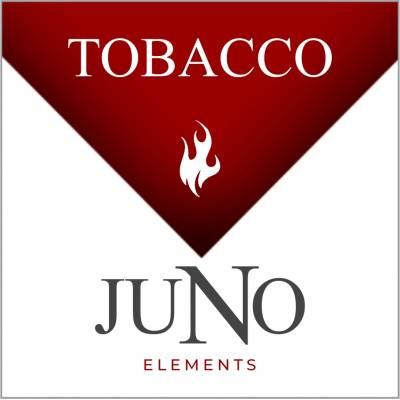 Juno - Tobacco - 4 Pack Pods - White and red Juno label.
