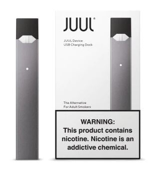 JUUL Device and USB Charging Dock - Slate Colored Juul Device and Charger