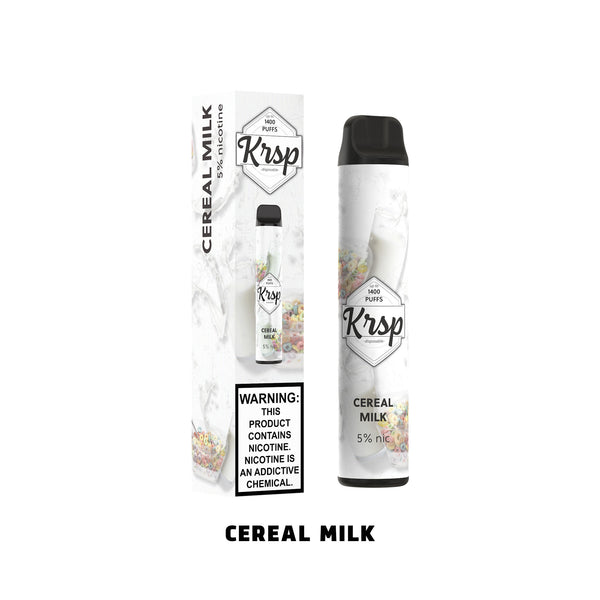 Krsp - 1400 Puffs - Disposable Vape - Cereal Milk