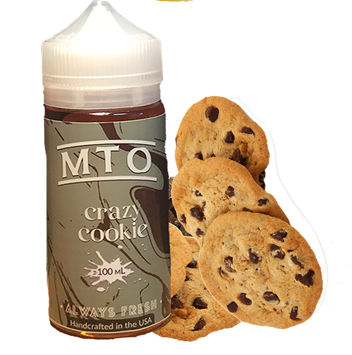MTO Salts - Crazy Cookie - 60ML Vape Juice - Cloud City Vapes NC