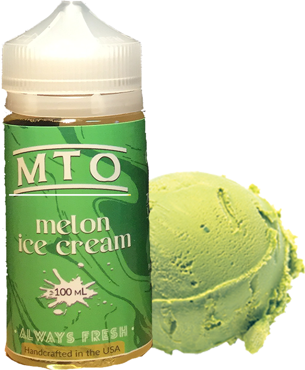 MTO Salts - Melon Ice Cream - 60ML Vape Juice - Cloud City Vapes NC