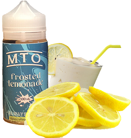 MTO Salts - Frosted Lemonade - 60ML Vape Juice - Cloud City Vapes NC