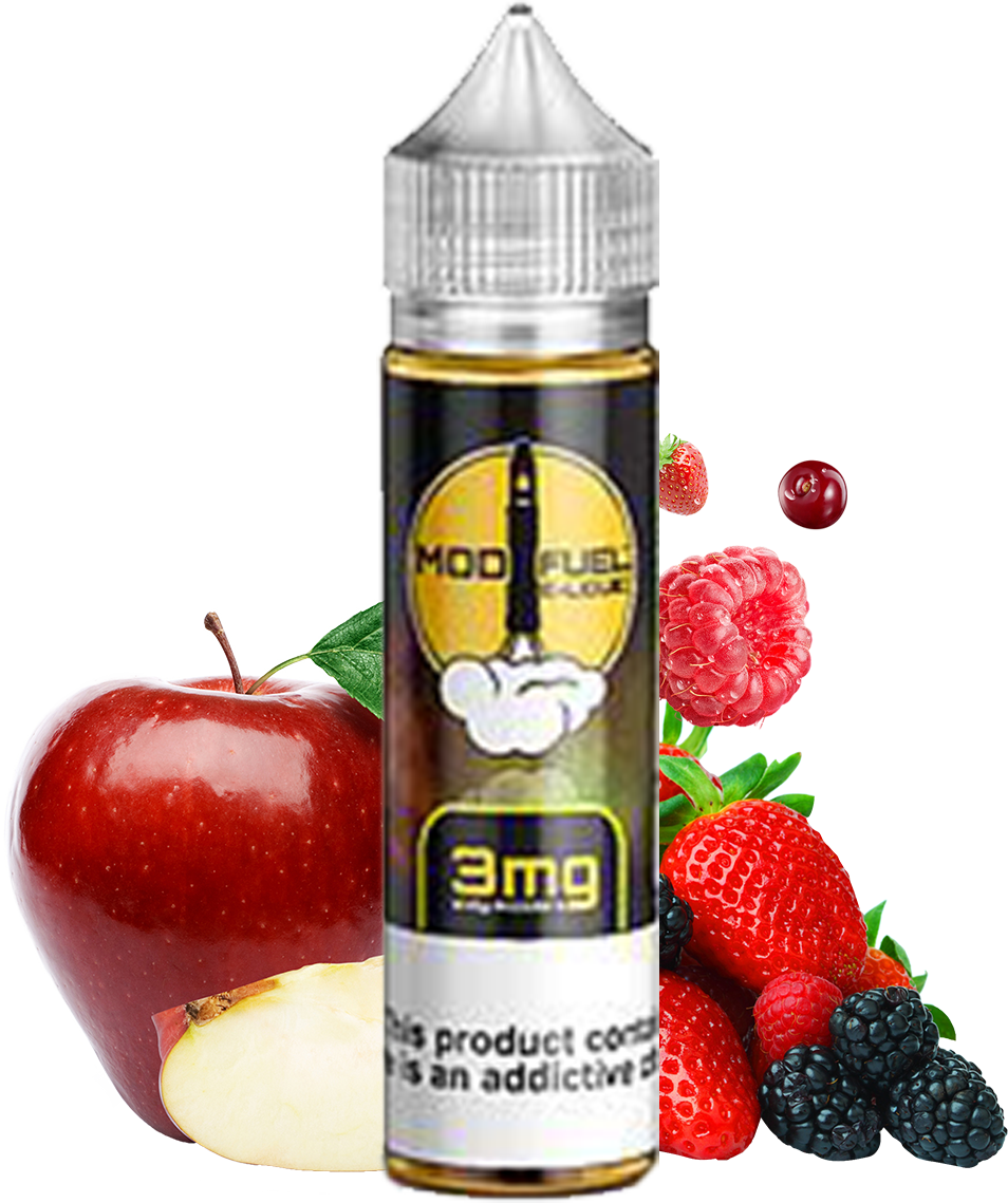 Mod Fuel - Skylark - 60ML Vape Juice - Apple Strawberry Blueberry Raspberry Flavor