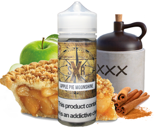 SXR - Apple Pie Moonshine - 120ML Vape Juice