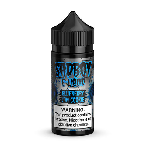 Sadboy - Blueberry Jam Cookie - 100ML Vape Juice