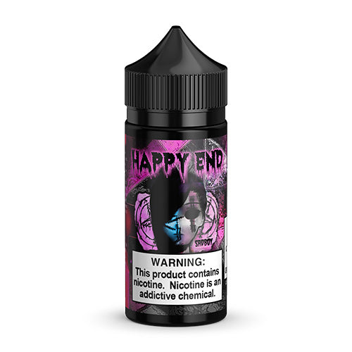 Happy End - Sadboy - Pink Cotton Candy bottle.