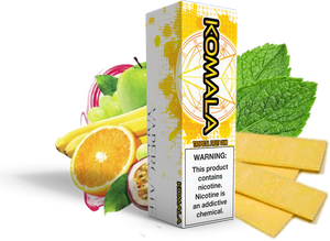Vapergate - Komala - 120ML Vape Juice - Plastic Bottle Juicy Fruit Tropical Gum